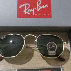 NEW Ray Ban Hexagonal Flat Lenses RB3548-N
